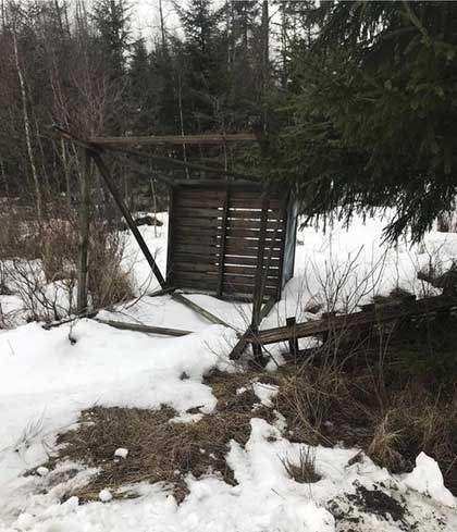 torres de caza saboteadas en suecia