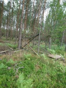 Torres de Caza derribadas en Suecia.1