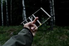 Torres de caza derribadas en Suecia.2