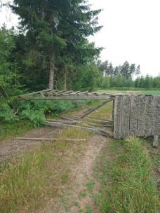 Torres de Caza derribadas en Suecia.