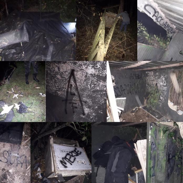 El Frente de Liberación Animal destruye torres de caza en Italia