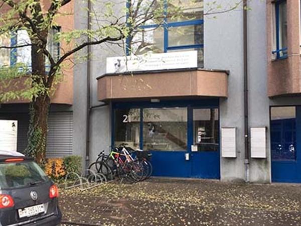 las oficinas centrales de la empresa láctea atacadas en Suiza.