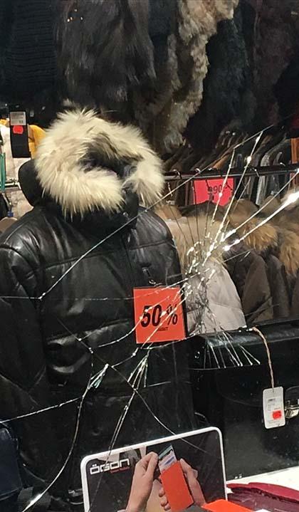 Tienda peletera atacada en Suecia.